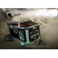 Quality 1200 Watt Water Haze Machine Dry Ice Stage Fog Machine With Flight Case X-DI for sale