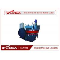 China Eight Hole Disk Free Brick Machine In Autoclave Aerated Concrete Block on sale