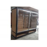 Quality Clear Tempered Glass Door Wall Mounted Display Cabinets Commercial Retail Commercial Retail for sale