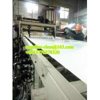 Quality Plastic PVC stone powder marble sheet making machine for sale