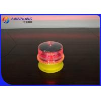 Quality Built - In Photocell Solar Obstruction Light Steady - Burning Mode For Power Plant Chimneys for sale