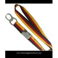 Quality High Quality Custom silk-screen printing lanyard and custom Woven Polyester Lanyard for sale