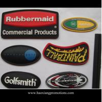 Quality Wholesale Cheap Custom PVC Soft Rubber Patch with company logo for sale
