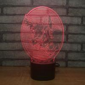 Quality new 2018 3D night light christmas light led light,  bluetooth speaker function Arcrylic 3D laser  night lamp ligth for sale