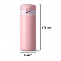 Quality 0.32L Leakproof 11 Ounce Thermos Flask Coffee Cup for sale