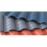 Quality Minecraft Heat And Cold Insulation Plastic Roof Panels Small Wave ASA Coated for sale