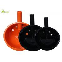 China Orange Plastic Pig Drinking Water High Hardness Stainless Steel Pipe on sale