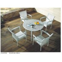 Quality China pe rattan outdoor restaurant table chair furniture sets for sale