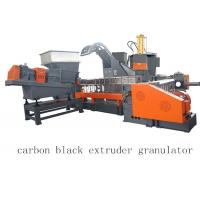 Quality Carbon Black Single Twin Screw Two Stage Extruder Granulator Making Machine for sale