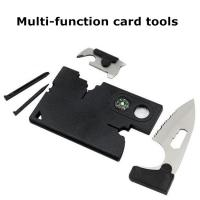 Quality New credit card knife multifunction 10 in 1 survival card tools for sale