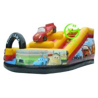 Quality 2016 hot sell  inflatable car slide with 24months warranty GT-SAR-1623 for sale