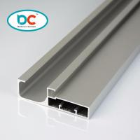 Quality 6000 series glossy aluminum kitchen profile for 4mm glass with gasket for sale