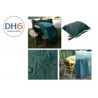 Quality Pretty Green Universal Grill Covers , Custom BBQ Covers Picnic Application Reliable for sale