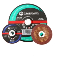 Buy cheap 4 In X 1/4 In X 5/8 In Resin Bonded T27 Grinding Wheel For Polishing Stainless from wholesalers