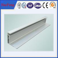 Quality China extrusion aluminum profile for solar panel frame for sale