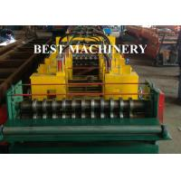 Buy Quick Change Size Ladder Type Cable Tray Forming Machine Punching Holes at wholesale prices