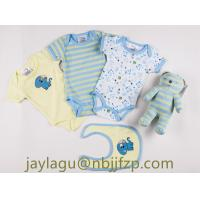 Buy 100% COTTON 5PCS NEWBORN BABY GIFT SET WITH TOY/BABY CLOTHING SET at wholesale prices