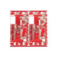 Quality High Precision 4 layer fr4 prototype pcb red mask cctv pcb board Immersion tin for sale