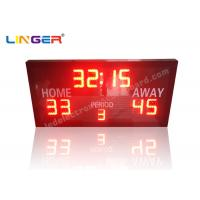 Buy cheap Ultra Thin LED Electronic Basketball Scoreboard With Remote Controller from wholesalers