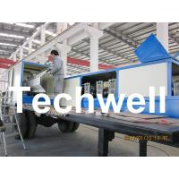 Quality 914-610 Mobile K Span Roll Forming Machine for 0.8 - 1.5mm K Span Arched Roof Panel for sale