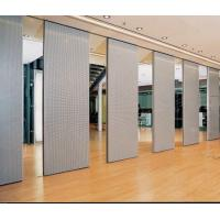 Buy cheap Movable Acoustic Wooden Partition Wall Commercial Furniture Aluminum Frame from wholesalers