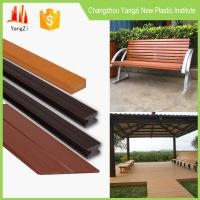 Quality PS plastic outdoor decking material for flooring,bench,chair similar with WPC and wood for sale