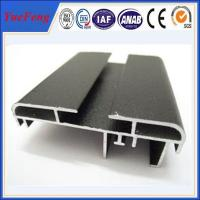 Quality 6063-T5 matte anodized aluminum extrusion for advertising for sale