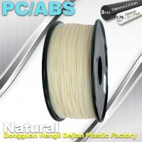 Quality High Toughness 1.75mm 3D Printer Filament PC / ABS Filament 1.3Kg / Roll for sale