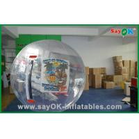 Quality Aqua Park Inflatable Sports Games Giant Body Zorb Ball 1.0mm PVC Summer Fun for sale