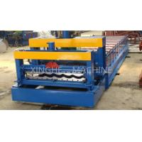 Quality Updated Tech Automatic High speed Glazed Steel Roof Tile Roll Forming Machine 828 for sale