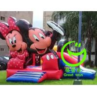 Quality 2016 hot sell Mickey mouse inflatable bounce house  with 24months warranty GT-BC-1840 for sale
