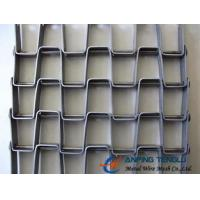 Quality The Great Wall Type Mesh Belt, SS304, SS316 and Galvanized Steel Materials for sale