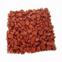 Quality Color EPDM Rubber Tiles, No Particular Smell, Easy to Clean for sale