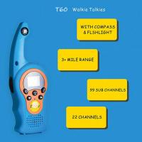 Quality 2019 hot product children funny use walkie talkie with VOX/compass/lock screen functions walkie talkie toy for gifts for sale