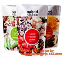 China Seasoning powder flour condiment plastic stand up pouch soup spice packaging bag with window,Soup Packaging Bag, Retort on sale