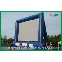 Quality Custom Made Inflatable Movie Screen Outdoor Inflatable Projection Screen for sale