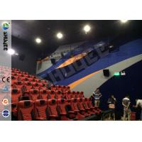 Quality Brand Speaker Large Screen 4D Motion Chair With Pneumatic System For 150 Seats for sale