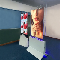 Buy cheap 55'' New Product Transparent Double Sided Screen Display Two-Sided Advertising from wholesalers