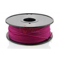 Buy Rapid Prototyping Purple 3D Printer ABS Filament 3 MM , 3D Print Consumable at wholesale prices