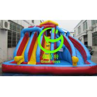 Quality 2016 Hot sell  Inflatable water slide adult with 24months warranty from GREAT TOYS for sale