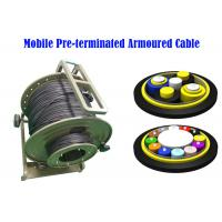 Quality PDLC ODC ODVA  Fiber Optic Armoured Cable Remote Radio Head cell Tower 7.0mm BBU RRU Non-metal for sale