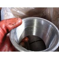 "Buy cheap ASTM A53/A865 coupling 2 1/2"" API 5B NPSC Thread coupling Galvanized from wholesalers"