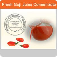 Quality 100% Organic Fruit Goji Juice Concentrated Juice Nutrition Benefit Heathy for sale