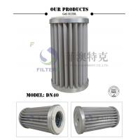 Quality Stainless Steel Mesh Gas In Air Filter, Pleated DN40 Natural Gas Line Filter for sale