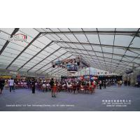 5000 Peope Giant Clear Span Tent 50 by 70 Meter with Transparent PVC Roof Cover for sale