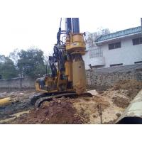 Quality Small Hydraulic Piling Rig KR60C for Drilling 24m Depth Foundation Pile CE / ISO9001 for sale