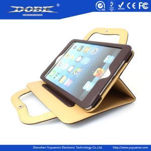 Quality Handbag style protective multi-angel upstanding leather bag for iPad mini for sale