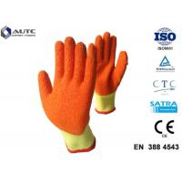 Quality Mechanical Personal Protective Equipment Gloves Elasticated Cuff For Glass Handing for sale
