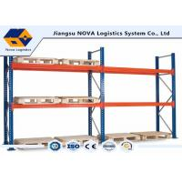 Quality Corrosion Protection Pallet Warehouse Racking With Free Post Base Plate for sale