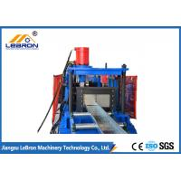 Quality Blue Color PLC Control Automatic Cable Tray Roll Forming Machine Long Time Service for sale